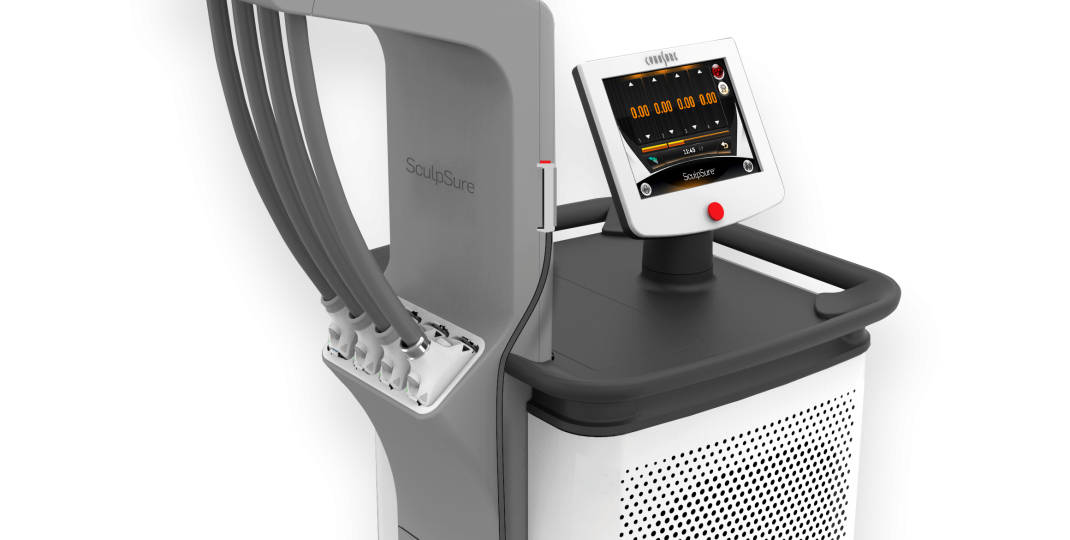 Photo of the actual WarmSculpting by SculpSure machine.