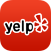 Yelp logo image for backlinking to Yelp site.